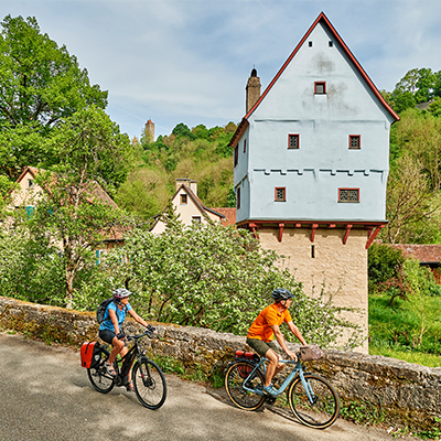 Radtour Altmühltal